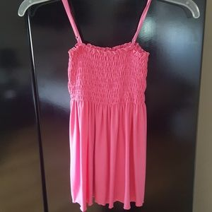 """Pretty PINK """"I Love You"""" flair TOP"""